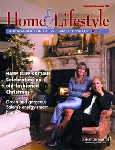 Cover of Home and Light Magazine featuring John and Deirdra Doan