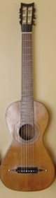 1822 Panormo Guitar