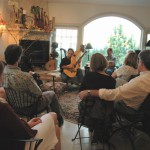 john doan harp guitar retreat Nate opens the show for John during Saturday nights house concert