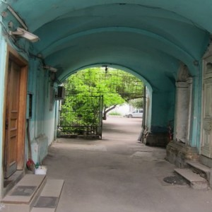 32.Stepan Stepanovich Apraksin House Carriage Entry