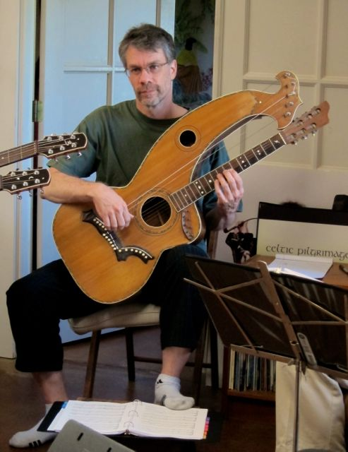 John Doan Harp Guitar Retreat Brent