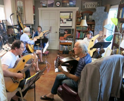 Harp Guitar Retreat Morning Class