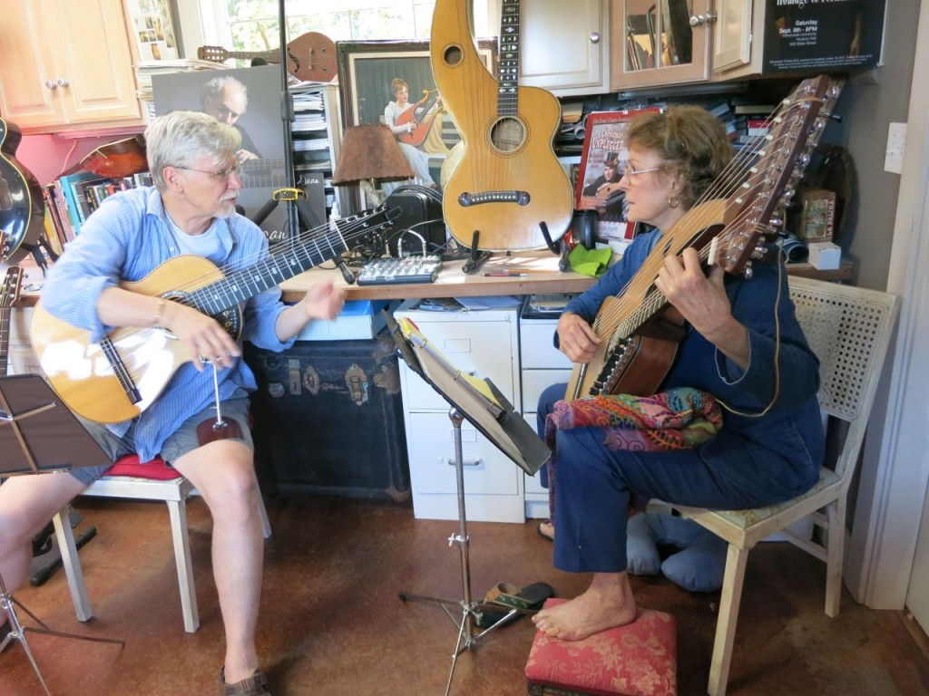 4. Harp Guitar Retreat 2014 James Schaller and Angele Blanton