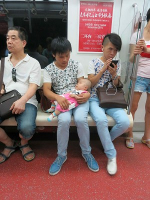 13. Xian Couple call for diapers