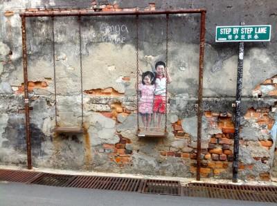 5. Painted Wall Penang, Malaysia John Doan