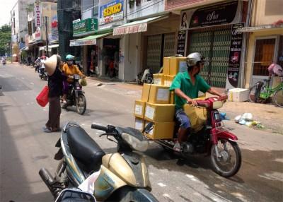 46. Motorcycle Cargo